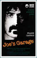 Joe's Garage booklet